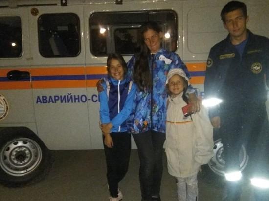 В Крыму мать с детьми была эвакуирована с Долгоруковской яйлы