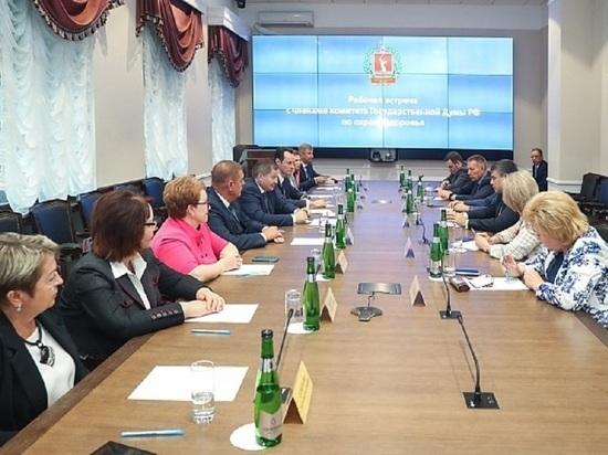 Бочаров сверил вектор развития здравоохранения с депутатами Госдумы