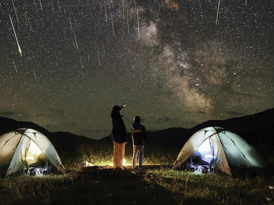Наблюдать за звездопадом на высоте две тысячи метров приглашают жителей Кубани
