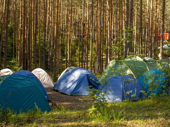 В Минусинском районе за нарушения закрыли палаточный лагерь
