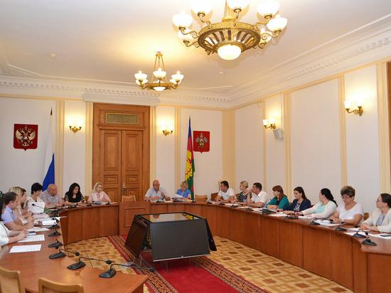 Заместители краевых министров отчитались перед ЗСК о реализации нацпроектов
