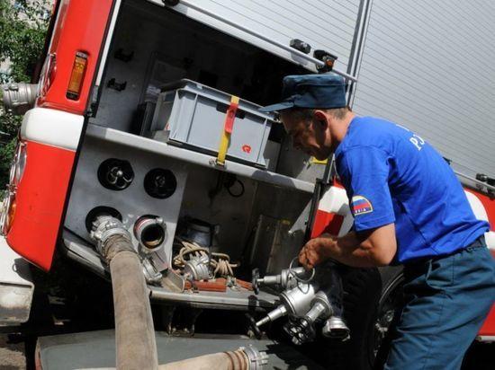 В Тамбовской области сгорел рейсовый автобус «ПАЗ»