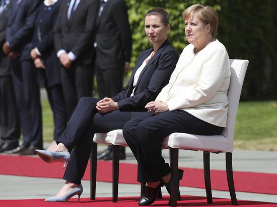 Doktè Alman an dyagnostike Merkel
