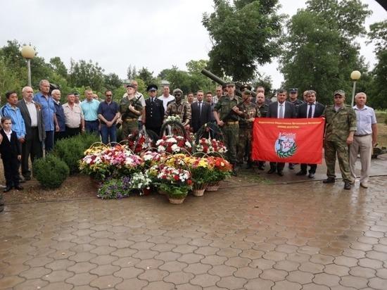 На Ставрополье открыли мемориал павшим воинам