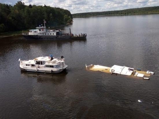 В Ярославской области яхта затонула после столкновения с пассажирским теплоходом