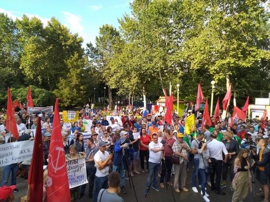 Митинг против «транспортного погрома» в Краснодаре: «Это происходит в интересах частных перевозчиков»