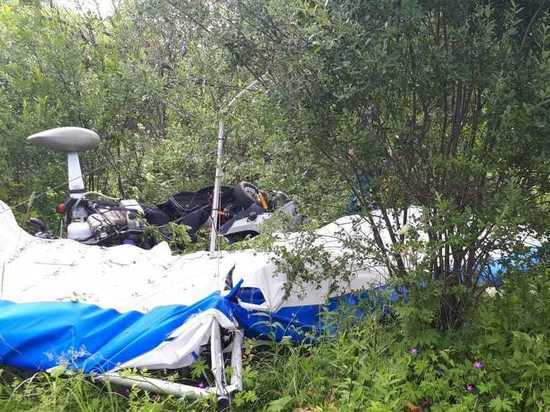 В Кимрском районе потерпел крушение дельталет, два человека погибли