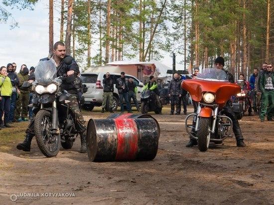 Сто верст не крюк: байкеры со всей России и не только съехались в Карелию