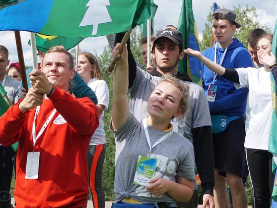 Слет молодежного актива Вологодской области «Регион молодых» открылся сегодня