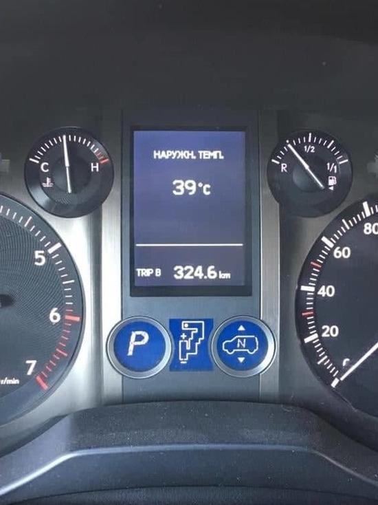 Бишкек изнывает от жары, понижения температуры воздуха пока не ожидается