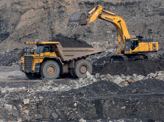 За первое полугодие 2019 года  «Русский Уголь» на 3% увеличил добычу каменного угля в Красноярском крае