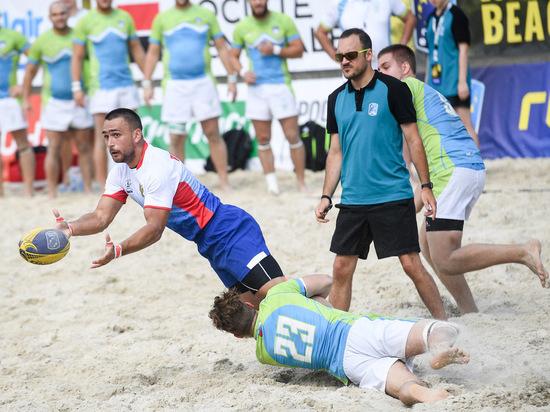 Чемпионат Европы по пляжному регби снова в Москве