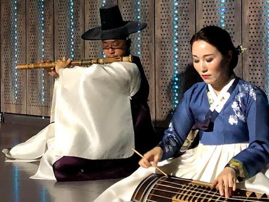 В Москве состоялся концерт корейской традиционной музыки