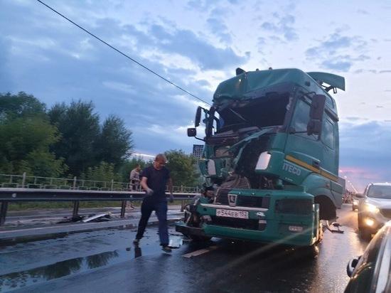 В Рязани образовалась крупная пробка из-за ДТП на Северном обходе