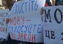 На Украине вступил в силу закон о государственном языке