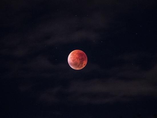 Ночью кузбассовцы увидят кровавую луну