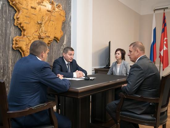 Андрей Бочаров определился с кандидатурами в Совет Федерации