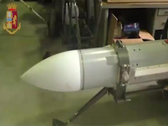 Итальянская полиция изъяла ракету из-за конфликта на Украине
