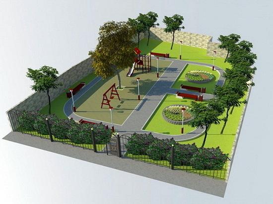 В Воронеже появится новый сквер