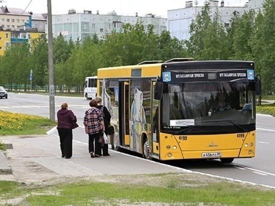 Автобусы в Ноябрьске меняют схему движения