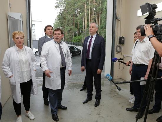 Новосибирские власти готовы лоббировать интересы центра Мешалкина