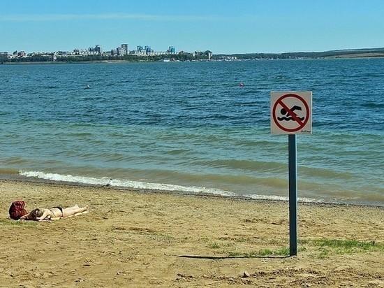 В этом году купание запрещено везде