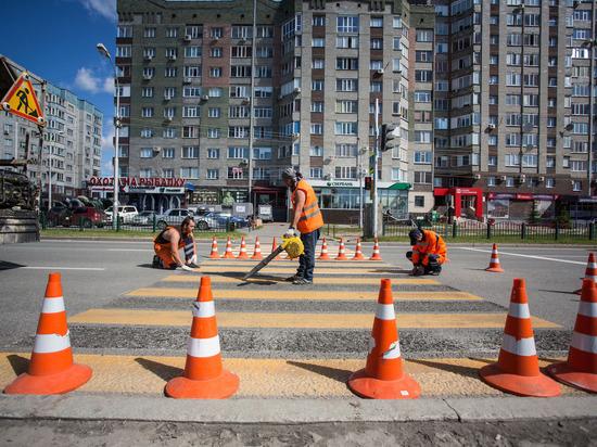 Как в Сургуте ремонтируют истроятавтомагистрали