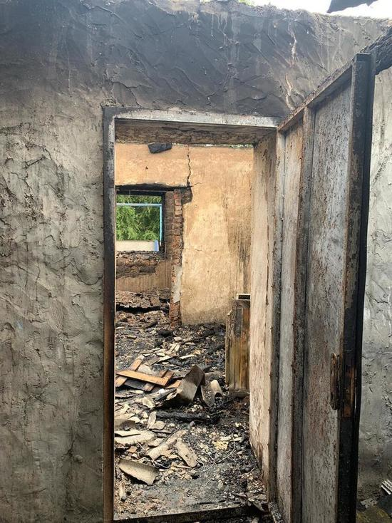 Пятилетняя девочка сгорела в пожаре в жилом доме на Ставрополье