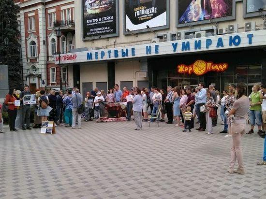 В Воронеже не утихает скандал со строительством многоэтажки на Лизюкова
