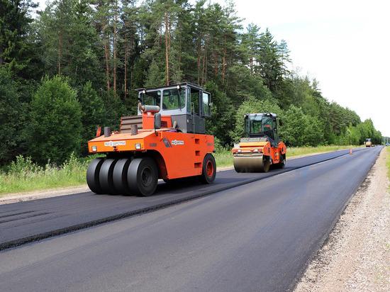 В Тверской области ремонтируют дорогу Осташков-Селижарово-Ржев