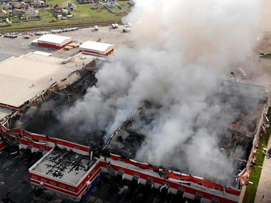 Пожароопасность в Воронежской области не снижается