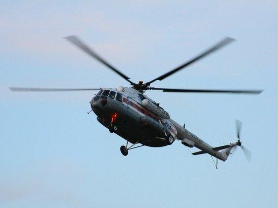 Вертолет МЧС России помог спасти жизнь жительницы Тверской области