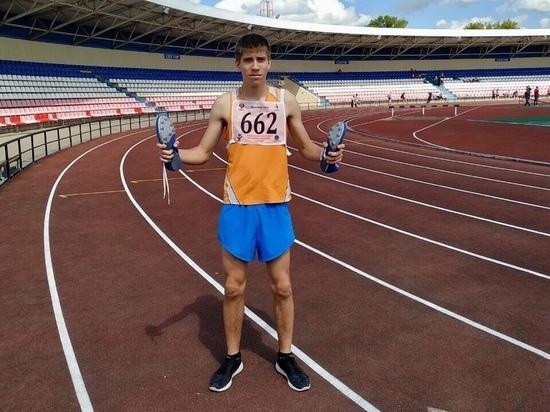 Особенный легкоатлет из Мордовии завоевал «золото» в Йошкар-Оле