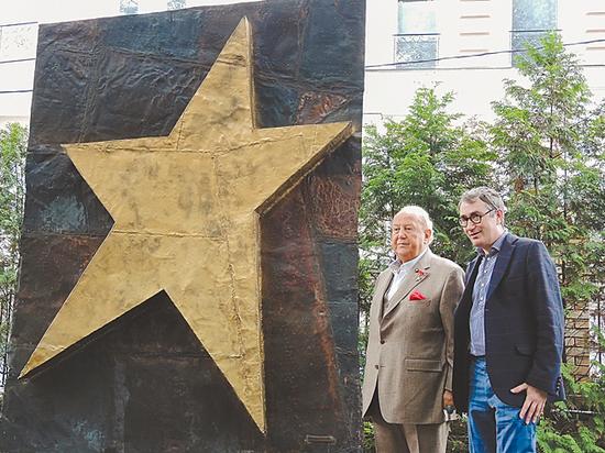 В ГИТИСе установили монумент Зураба Церетели