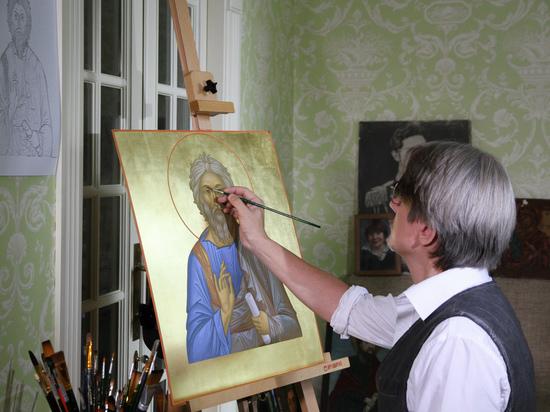 Художник об иконах для военного храма: «Соприкасаешься с вечностью»