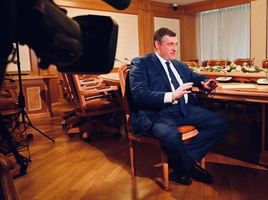 Слуцкий поддержал упрощение выдачи российских паспортов для жителей Донбасса