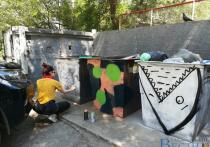 Цветные мусорные баки появились в Хабаровске