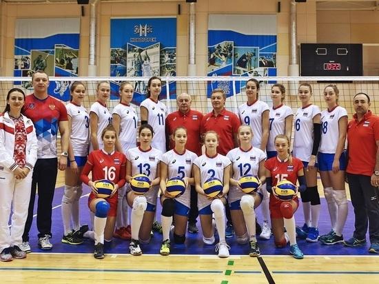 Спортсменка из Хакасии вышла в полуфинал первенства Европы по волейболу
