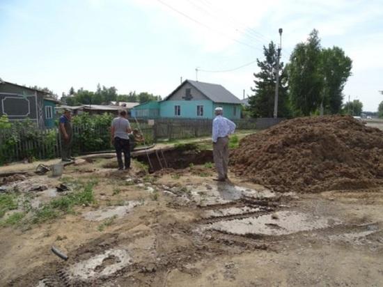 Жители села Гальбштадт Немецкого национального района остались без воды