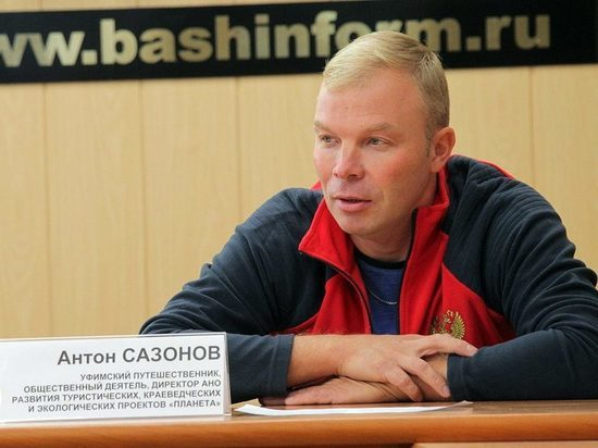 Белгород посетил участник необычной велоэкспедиции