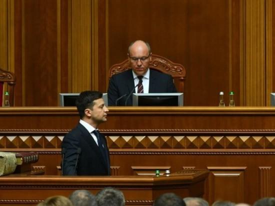 Зеленский застыдил Парубия за бездействие в Раде: