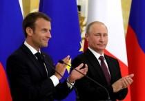 Макрон принял приглашение Путина на Парад Победы в 2020 году