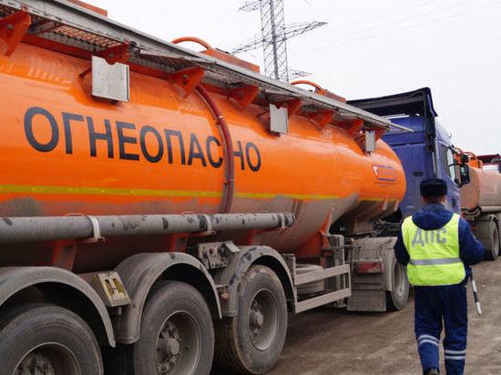 Водителей большегрузов внимательно проверит Госавтоинспекция
