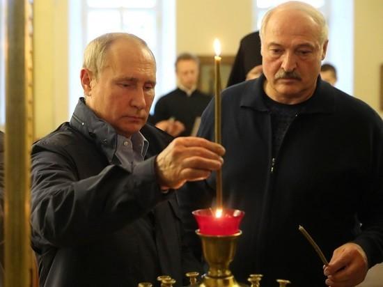 Лукашенко предложил Путину закрыть все спорные вопросы к зиме