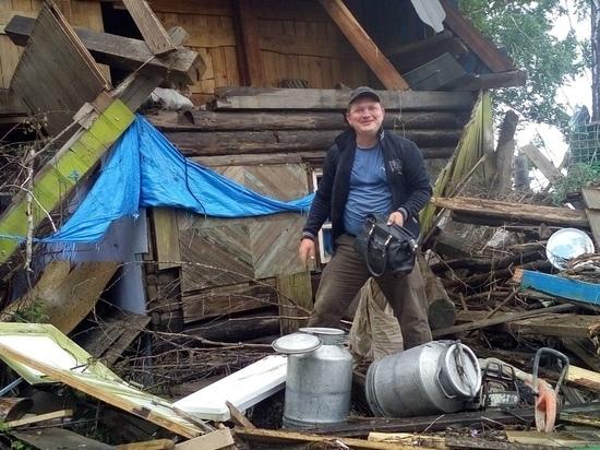 В затопленном Тулуне продолжается ад: «Дом уплыл, выдали тысячу рублей»