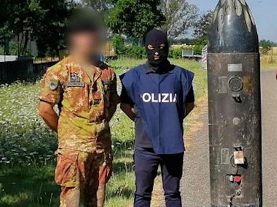 Воевавших на Донбассе задержали в Италии с ракетой «воздух-воздух»