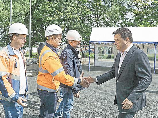 Строительство Западного объезда Сергиева Посада окончено на80%