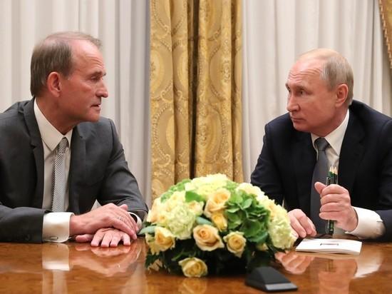 Путин обласкал Медведчука и «нейтрализовал» Лукашенко в Петербурге