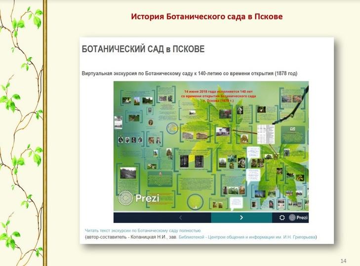 Центральная псковская библиотека нашла спонсора для путеводителя по паркам города, фото-1