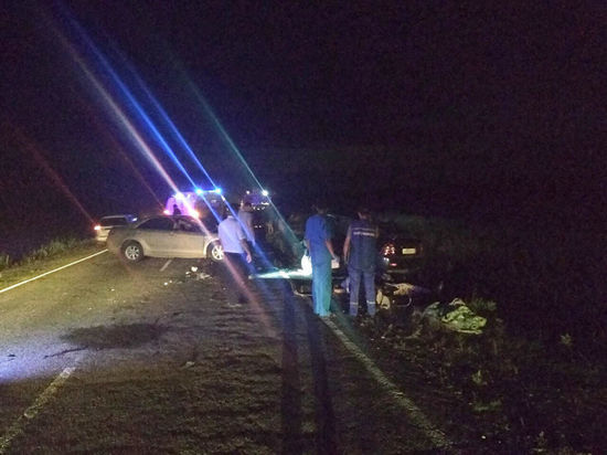 7 человек погибли вкрупном ДТП вТуве